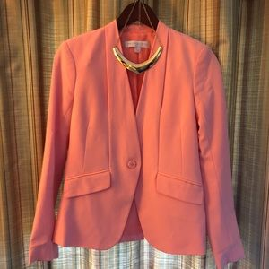 New York and Co peach blazer
